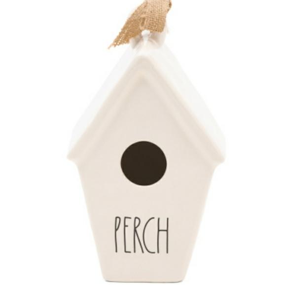 Rae Dunn PERCH Birdhouse